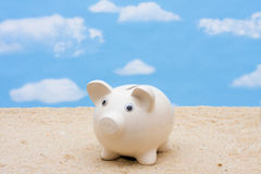 Saving for Vacation Royalty Free Stock Image