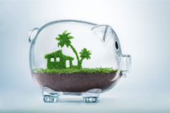 Saving for vacation concept Royalty Free Stock Photography