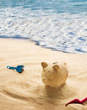 Saving for vacation Stock Photos