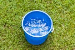 Saving water Stock Image