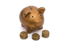 Saving for your retirement Royalty Free Stock Photo