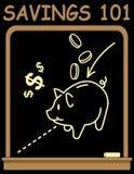 Savings 101 Royalty Free Stock Photography