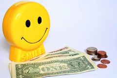 Savings. Saving makes you happy Stock Photo