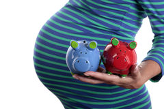 Savings for baby Stock Image