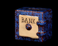 Savings bank Royalty Free Stock Photo