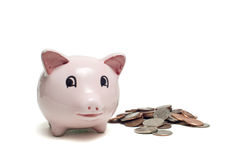 Savings bank Stock Image