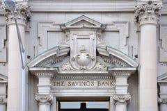Savings Bank of Utica, Utica, New York State, USA Royalty Free Stock Photo