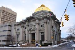 Savings Bank of Utica, Utica, New York State, USA Stock Image
