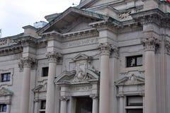 Savings Bank of Utica, Utica, New York State, USA Stock Photos