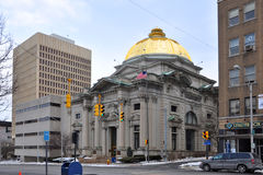 Savings Bank of Utica, Utica, New York State, USA Royalty Free Stock Image