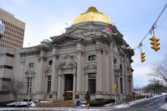 Savings Bank of Utica, Utica, New York State, USA Royalty Free Stock Photos