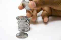 Savings Bit by Bit Stock Images