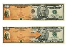 Savings Bond Fifty Morph Stock Images