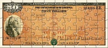 Savings Bond Puzzle Stock Photos