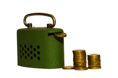 Savings box Royalty Free Stock Photography