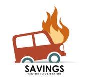 Savings car Royalty Free Stock Photography