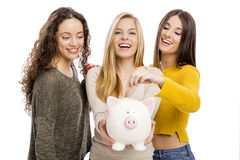 Savings for college Royalty Free Stock Image