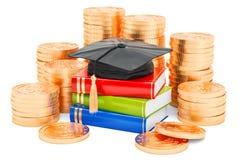 Savings dla edukaci pojęcia, 3D rendering Obraz Royalty Free