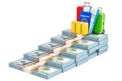 Savings dla urlopowego pojęcia, 3D rendering Fotografia Stock