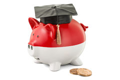 Savings for education in Indonesia concept, 3D rendering Stock Photography