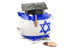 Savings for education in Israel concept, 3D rendering Royalty Free Stock Photography