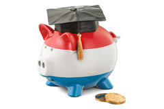 Savings for education in Luxembourg concept, 3D rendering Royalty Free Stock Photos