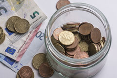 Savings euros Stock Images