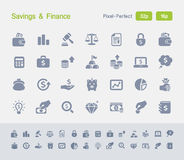 Savings & Finance | Granite Icons Stock Images