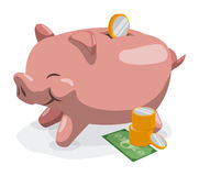 Savings graphic Royalty Free Stock Photography