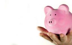 Savings in Hand Stock Photo