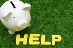 Savings Help Stock Image