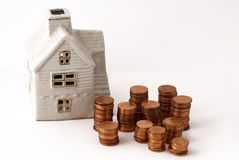 Savings home Royalty Free Stock Image