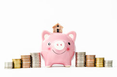 Savings for home concept. Stock Photography
