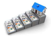 Savings for house buy Stock Photography