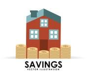 Savings house Stock Photo