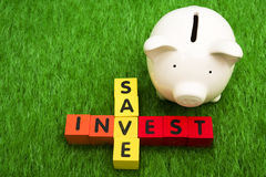Savings and Interest Royalty Free Stock Image