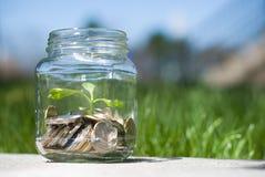 Savings jar Royalty Free Stock Photo