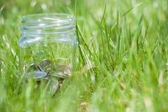 Savings jar Stock Photo
