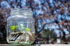 Savings jar Stock Photos