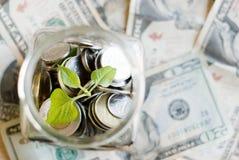 Savings jar Royalty Free Stock Photos