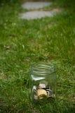 Savings jar Stock Images