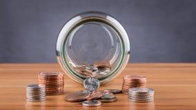 Savings jar Stock Image
