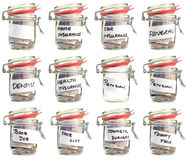 Savings Jars Stock Images