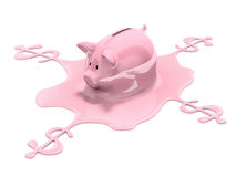 Savings melting Stock Photos