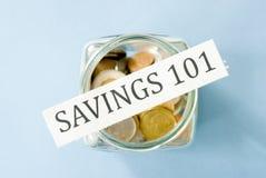 Savings 101 Stock Image