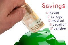 Savings Money Concept royalty free stock photo