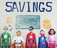 Savings Money Finance Economics Currency Concept. Savings Money Finance Economics Currency Royalty Free Stock Photography