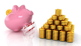 Savings no barriers! Royalty Free Stock Photography
