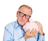 Savings in old age Stock Photography