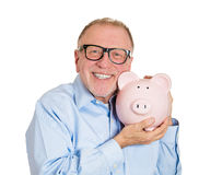 Savings in old age Stock Image